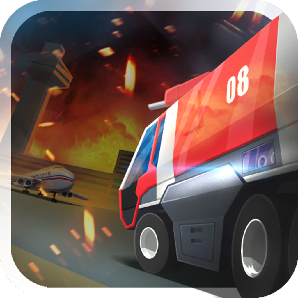Airport Fire Truck Simulator